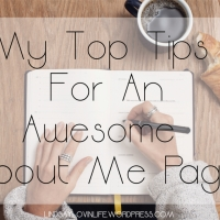 The Best of 2017 - My Top Tips For An Awesome About Me Page