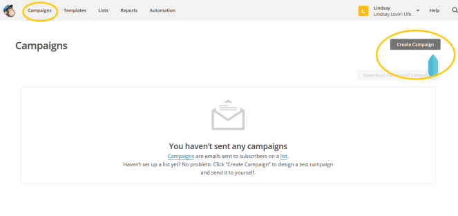 How to send a newsletter with Mail Chimp 10
