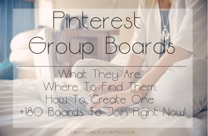 Pinterest Group Boards - What They Are, Where To Find Them, How To Create One + 180 Boards To Join Right Now!