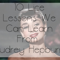 #MotivationalMonday – 10 Life Lessons We Can Learn From Audrey Hepburn