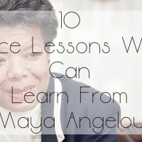 #MondayMotivation: 10 Life Lessons We Can Learn From Maya Angelou
