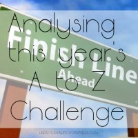 Analysing this year's A to Z Challenge