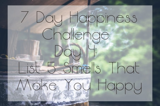 7 Day Happiness Challenge Day 4