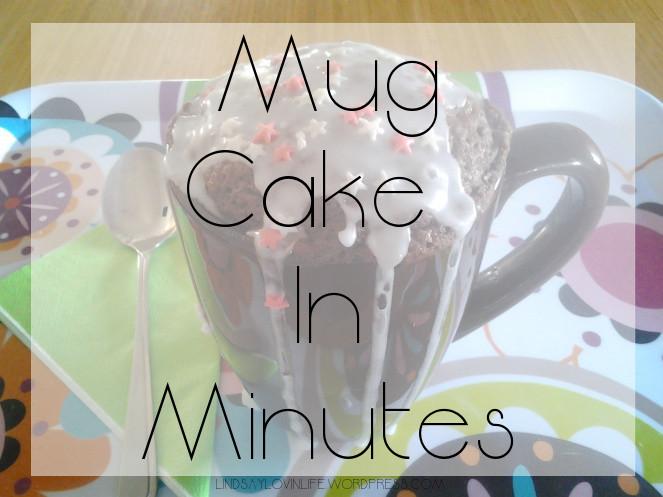 Mug Cake In Minutes