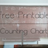 Free Printable Counting Chart 1 to 100