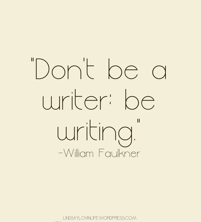 Inspirational Writing Quote 25