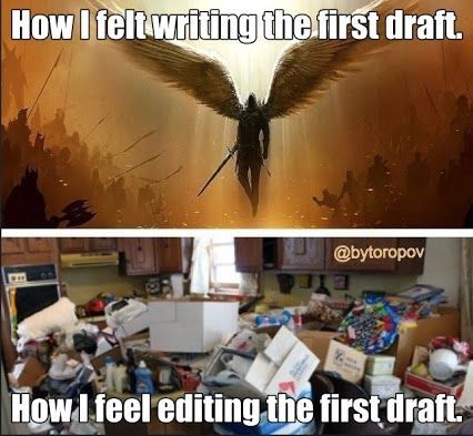 While the feeling of completing a first draft more glamorous than editing it, it is a necessary chore to repurpose old content