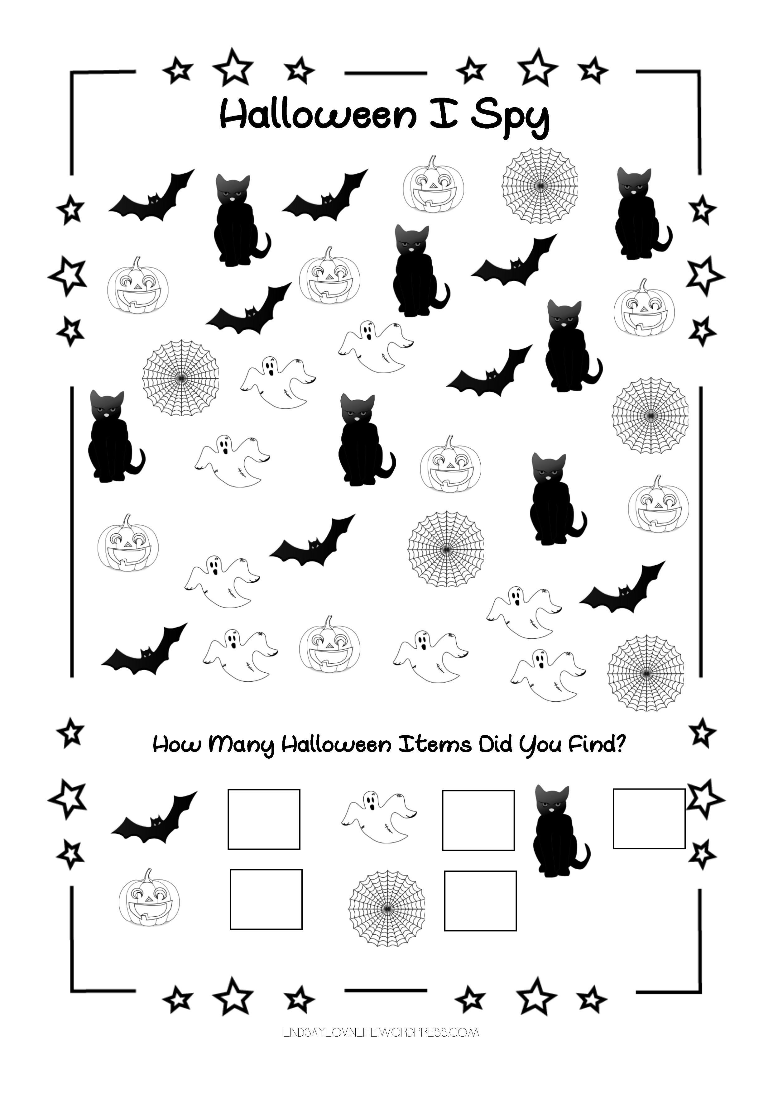 picture about Halloween Printable named 2 Free of charge Halloween Printables