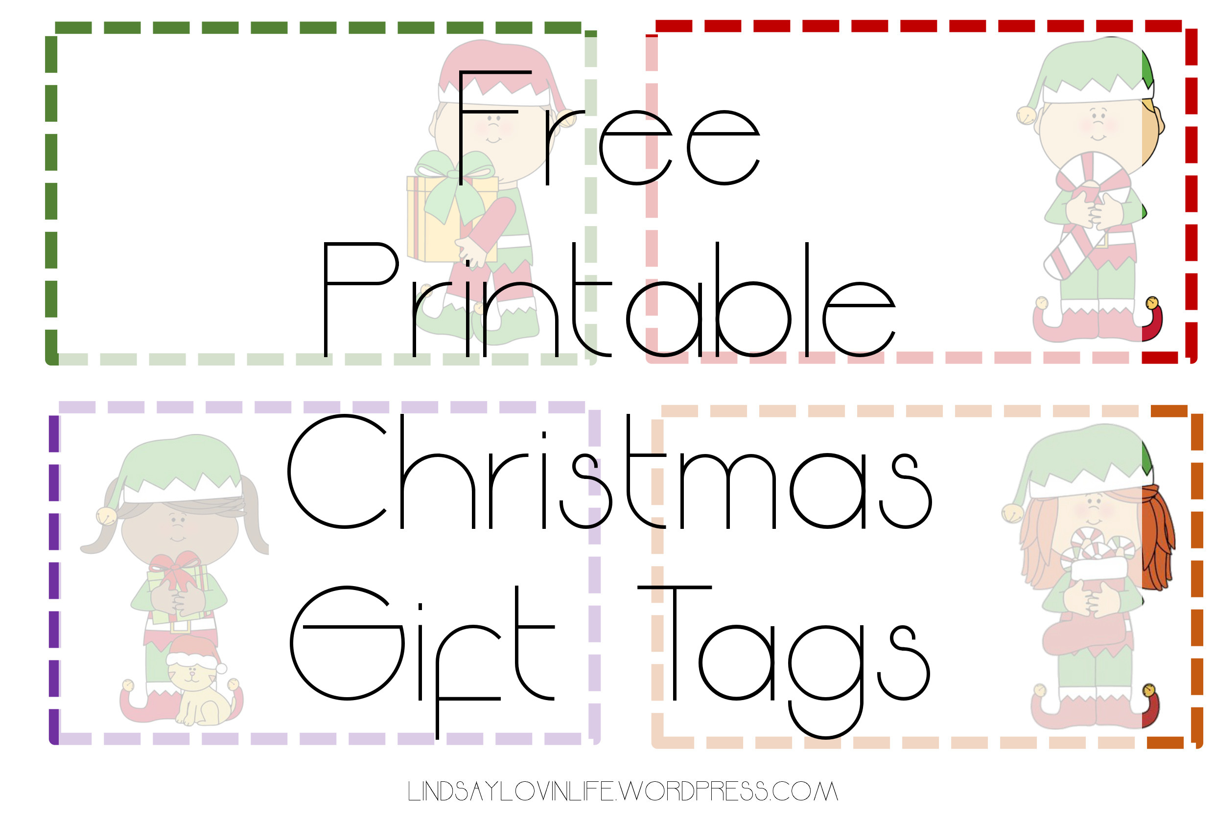 image about Printable Christmas Tags identified as Blogmas Working day 1 No cost Printable Xmas Reward Tags